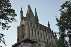 Castillo de Harry Potter en Orlando universal Fotos de archivo libres de regalías