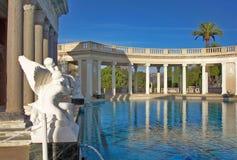 Castillo de Hearst - piscina de Neptun Imagen de archivo