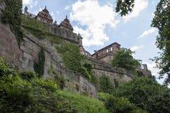 Castillo de Heidelberg fotos de archivo