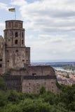 Castillo de Heidelberg imágenes de archivo libres de regalías