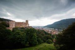 Castillo de Heidelberg Fotografía de archivo libre de regalías
