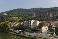 Castillo de Heidelberg imagenes de archivo