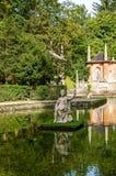 Castillo de Hellbrunn Imagen de archivo libre de regalías