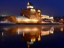 Castillo de Herman.   Foto de archivo libre de regalías