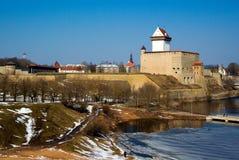 Castillo de Herman. Imagenes de archivo