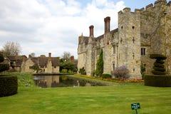 Castillo de Hever en resorte Foto de archivo libre de regalías