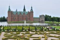 Castillo de Hilleroed, Dinamarca Imágenes de archivo libres de regalías
