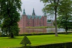 Castillo de Hilleroed, Dinamarca Foto de archivo libre de regalías