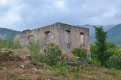 Castillo de Himara, Albania Imagenes de archivo