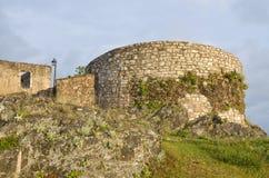 Castillo de Himara, Albania Foto de archivo libre de regalías