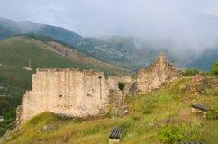 Castillo de Himara, Albania Fotos de archivo libres de regalías