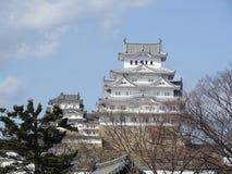 Castillo de Himeji Imagenes de archivo