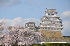 Castillo de Himeji Imagen de archivo libre de regalías