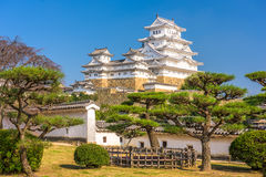 Castillo de Himeji de Japón Imagen de archivo libre de regalías
