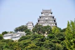 Castillo de Himeji en Japón Imagen de archivo