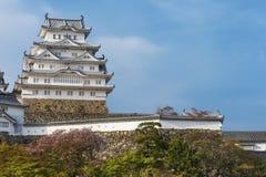 Castillo de Himeji en Japón imágenes de archivo libres de regalías