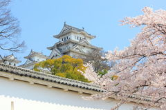 Castillo de Himeji, Japón fotos de archivo