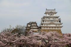 Castillo de Himeji-jo, Kansai, Japón Fotos de archivo