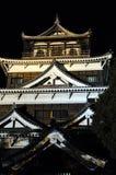 Castillo de Hiroshima Imagen de archivo
