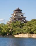 Castillo de Hiroshima Foto de archivo libre de regalías