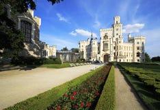 Castillo de Hluboka en República Checa Imágenes de archivo libres de regalías