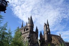 Castillo de Hogwarts Fotos de archivo