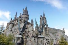 Castillo de Hogwarts fotos de archivo libres de regalías