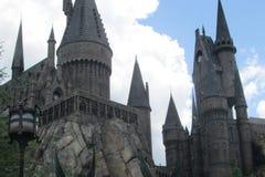 Castillo de Hogwarts en Orlando, la Florida foto de archivo libre de regalías