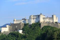Castillo de Hohensalzburg Foto de archivo