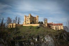 Castillo de Hohenschwangau Fotografía de archivo libre de regalías