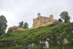 Castillo de Hohenschwangau Fotografía de archivo