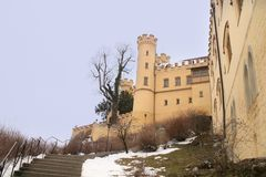 Castillo de Hohenschwangau. Alemania Foto de archivo