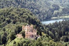 Castillo de Hohenschwangau, Baviera Imagen de archivo libre de regalías