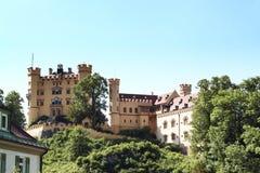 Castillo de Hohenschwangau, Baviera Foto de archivo libre de regalías