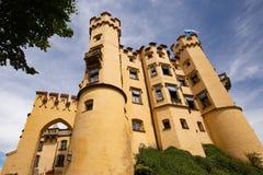 Castillo de Hohenschwangau en Alemania meridional fotografía de archivo libre de regalías