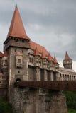 Castillo de Hunedoara Fotos de archivo libres de regalías