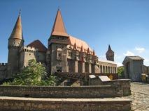 Castillo de Hunedoara Imagen de archivo libre de regalías