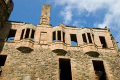 Castillo de Huntly, Escocia Fotos de archivo libres de regalías