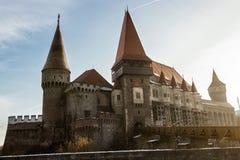 Castillo de Hunyadi de Transilvania Imagen de archivo