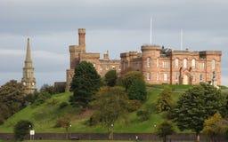 Castillo de Inverness Imagenes de archivo
