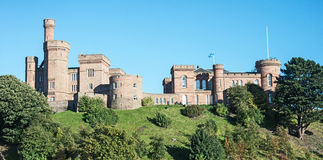 Castillo de Inverness Fotos de archivo libres de regalías