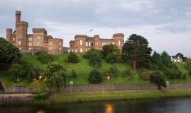 Castillo de Inverness, Escocia Fotos de archivo libres de regalías