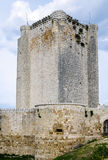 Castillo de Iscar in Valladolid province Royalty Free Stock Photography