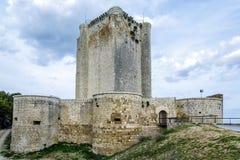 Castillo de Iscar in Valladolid province Stock Photography