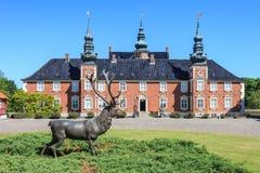 Castillo de Jægerspris fotografía de archivo