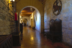 Castillo de Jaén Arkivfoton