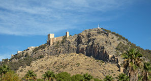 Castillo de Jaén imagen de archivo libre de regalías
