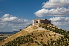 castillo de jadraque Arkivbild