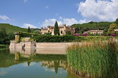 Castillo de Jalpà Imágenes de archivo libres de regalías