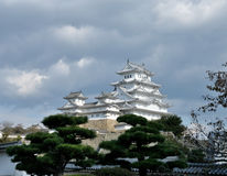 Castillo de Japón Himeji fotos de archivo